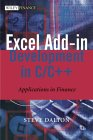 DALTON: Excel Add-in Development in C/C++: Applications in Finance
