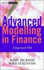 JACKSON, STAUNTON: Advanced Modelling in Finance Using Excel and VBA